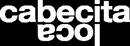cabecitaloca logotipo blanco