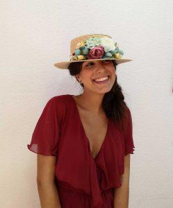 Sombrero Canotier TOLEDO